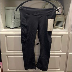 Lululemon black work out leggings